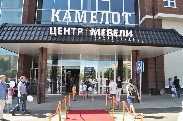 100% площадей заполнены. Сегодня открылся крупнейший в Минске Центр мебели «КАМЕЛОТ»