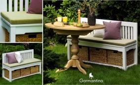 Столовый комплект (скамья + обеденный стол)