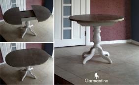 Письменный стол. Подстолье из массива сосны или дуба