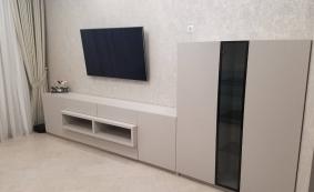 Мебель по индивидуальным заказам (3D визуализация). Комплект мебели в гостиную.