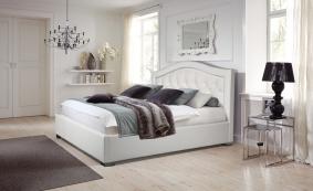 Кровать ДАРИНА изогнутое изголовье