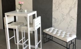 Барный стол и стулья ЛОФТ