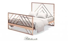 Кровать ЛОФТ 8 (индивидуальный заказ)