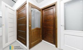 Межкомнатные двери из массива ольхи, сосны и дуба